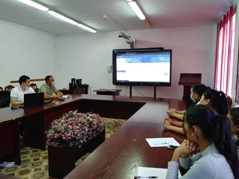 Семинар по разъяснению платформы Platonus education manager