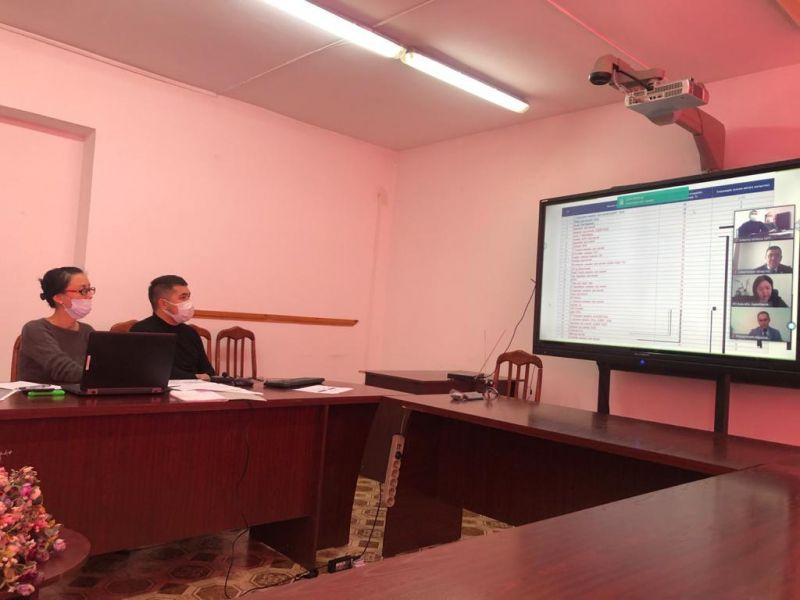 Семинар-совещание с директорами школ районов в онлайн режиме